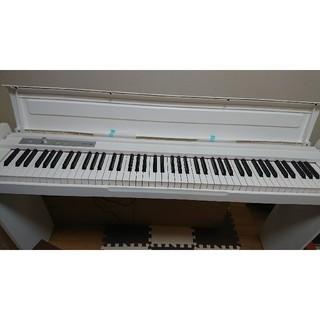 コルグ(KORG)のゆかちんさま限定!!電子ピアノ白(電子ピアノ)