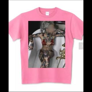 アフターベース(AFTERBASE)のオリジナルTシャツ tattoo girl セクシー エロ 夏 祭 男女 キッズ(Tシャツ/カットソー(半袖/袖なし))