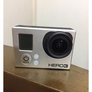 ゴープロ(GoPro)のgopro HERO3 ブラックエディション(コンパクトデジタルカメラ)