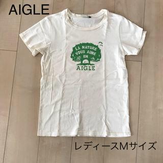 エーグル(AIGLE)の値下げ☆【AIGLE】エーグルツリーT レディースMサイズ(Tシャツ(半袖/袖なし))