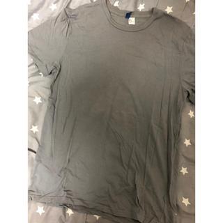 エイチアンドエム(H&M)のH&M Tシャツ グレー M(Tシャツ/カットソー(半袖/袖なし))