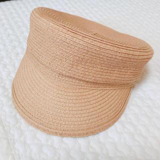 ジーユー(GU)の【送料込み】GU ジーユー 2018年SS 新作 キャスケット 帽子 麦わら帽子(キャスケット)