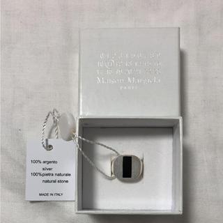 マルタンマルジェラ(Maison Martin Margiela)の新品・マルジェラ18ss・オニキスシルバーリング・指輪(リング(指輪))