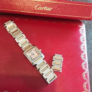 カルティエ(Cartier)のCartier タンクフランセーズ コマ(腕時計)