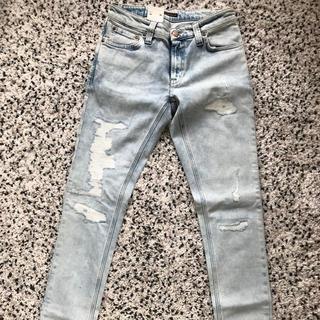 ヌーディジーンズ(Nudie Jeans)の新品タグ付き☆Nudie jeans ヌーディージーンズ  ダメージデニム(デニム/ジーンズ)
