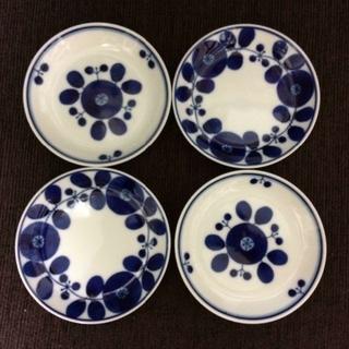 白山陶器 - ラスト1セット! 白山陶器 ブルーム リース&ブーケ プレートSS 4枚