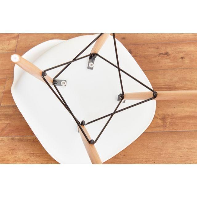 EAMES(イームズ)のイームズ 3点セット Eames カフェ インテリア/住まい/日用品の机/テーブル(ダイニングテーブル)の商品写真