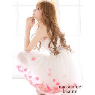 エミリアウィズ(EmiriaWiz)の♡R♡様専用 花びらドレスちゃんPINK♡(ミニドレス)