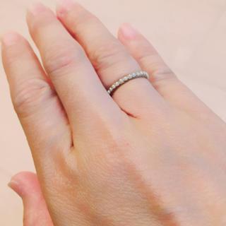 エナソルーナ(Enasoluna)のenasoluna パールエタニティリング エナソルーナ  リング(リング(指輪))