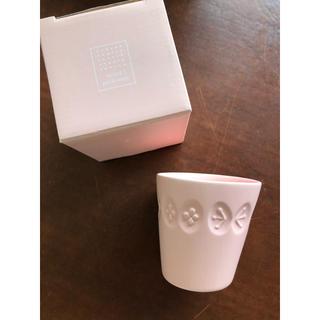 ミナペルホネン(mina perhonen)のミナペルホネン コップ  ピンク(グラス/カップ)