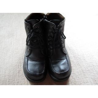 ブーツ(金具付き) 24cm 古靴(ブーツ)