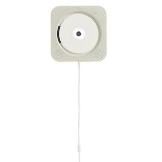 MUJI (無印良品) - 新品 無印良品 壁掛式 CDプレーヤー CPD-4 ホワイト CDプレイヤー