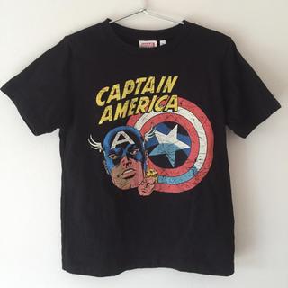 ジーユー(GU)のCAPTAIN AMERICA  Tシャツ(Tシャツ/カットソー)