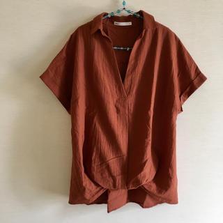 イッカ(ikka)のイッカ タックシャツ (シャツ/ブラウス(半袖/袖なし))