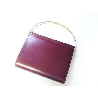 カルティエ(Cartier)のしぃパンダ様専用カルティエ トリニティ 持ち手付き折り財布 ボルドー(財布)
