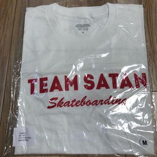 シックスシックスシックス(666)のチームサタン TEAM SATAN S/S TEE SHIRT ホワイト M(Tシャツ/カットソー(半袖/袖なし))