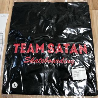 シックスシックスシックス(666)のチームサタン TEAM SATAN S/S TEE SHIRT ブラック L(Tシャツ/カットソー(半袖/袖なし))
