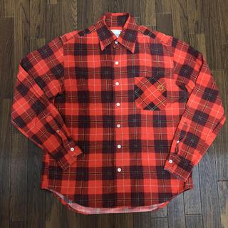 ジーディーシー(GDC)のGDCチェックシャツ S(シャツ)