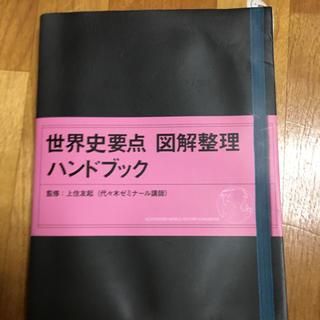 オウブンシャ(旺文社)の世界史要点 図解整理ハンドブック(参考書)