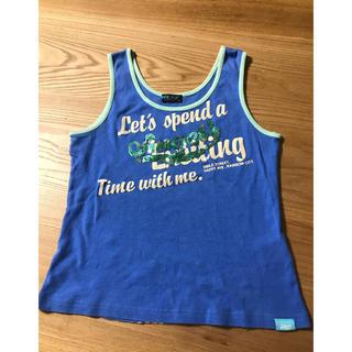 エンジェルブルー(angelblue)のタンクトップangel blue(Tシャツ/カットソー)