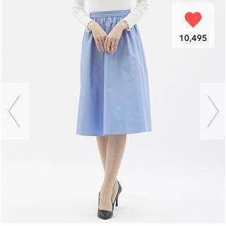 GU - GU ギャザーフレアスカート