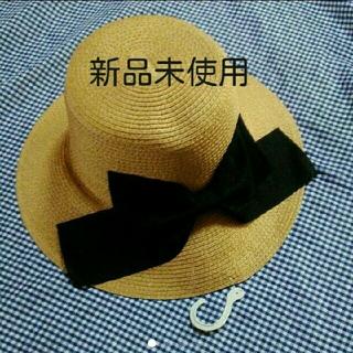 シマムラ(しまむら)の新品未使用◆麦わら帽子*しまむら(麦わら帽子/ストローハット)