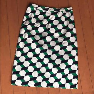 ヴィアバスストップ(VIA BUS STOP)のパピエティグレ(VIA BUS STOP)スカート(ひざ丈スカート)