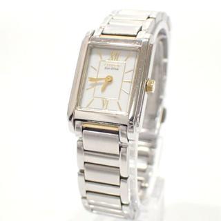 シチズン(CITIZEN)のA649 シチズン コレクション エコ・ドライブ レディース 電池交換不要(腕時計)