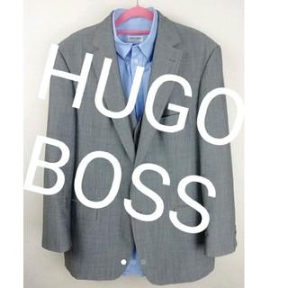 ヒューゴボス(HUGO BOSS)の☆三点セット売り☆ HUGO BOSS ジャケット&ベスト ARMANI シャツ(スーツジャケット)
