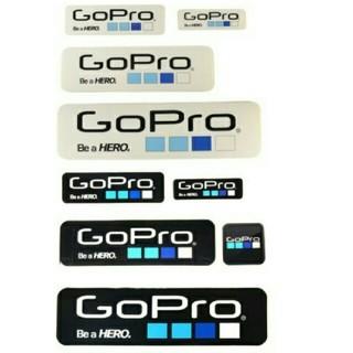 ゴープロ(GoPro)のGoPro ロゴ ステッカー セット(その他)