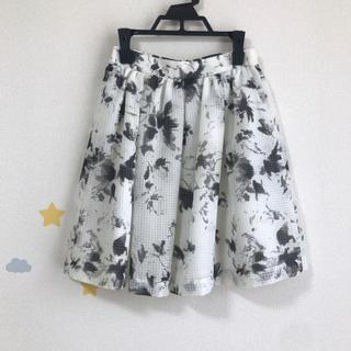 アストリアオディール(ASTORIA ODIER)のアストリア 花柄スカート(ミニスカート)