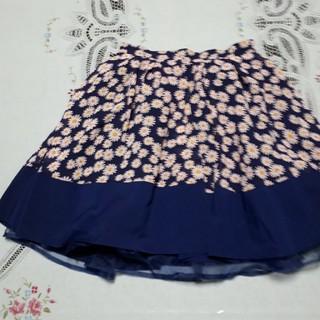 アドリー(ADREE)の花柄スカート(ミニスカート)