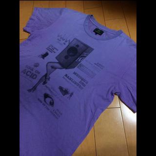 アールニューボールド(R.NEWBOLD)のR new boldライトパープルコットンT(Tシャツ/カットソー(半袖/袖なし))