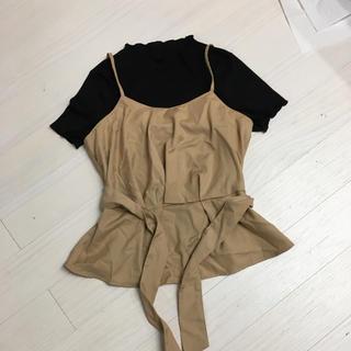 しまむら - 新品未使用キャミソールTシャツセットアップ