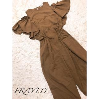 フレイアイディー(FRAY I.D)のFRAYI.D☆ラッフルスリーブブラウス(シャツ/ブラウス(半袖/袖なし))