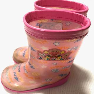 アンパンマン(アンパンマン)の★USED★女の子 長靴 アンパンマン 15cm ピンク(長靴/レインシューズ)
