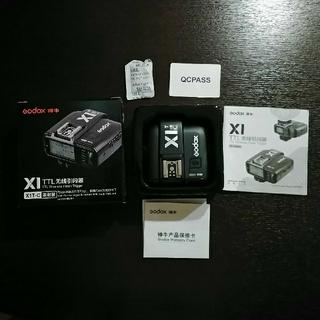 キヤノン(Canon)のGodox X1T-C TTLワイヤレスフラッシュトリガーキヤノン用送信機(ストロボ/照明)
