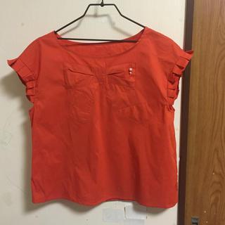 クチュールブローチ(Couture Brooch)のクチュールブローチ リボンデザインブラウス(シャツ/ブラウス(半袖/袖なし))