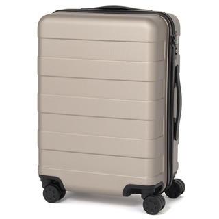 ムジルシリョウヒン(MUJI (無印良品))の未使用:無印良品 スーツケース 35L ベージュ(スーツケース/キャリーバッグ)