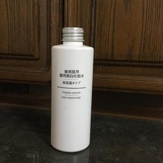 MUJI (無印良品) - 無印   敏感肌用 薬用美白化粧水 高保湿タイプ 200ml