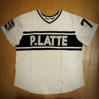 ピンクラテ(PINK-latte)のピンクラテ 半袖Tシャツ サイズXS(145~155)(Tシャツ/カットソー)
