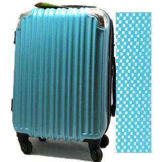 即買いok!!新品スーツケース ★TSAロック ブルー22(トラベルバッグ/スーツケース)