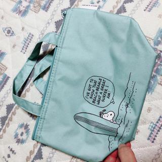 ピーナッツ(PEANUTS)のスヌーピーランチバック&傘袋&コンパクトウォレット(キャラクターグッズ)