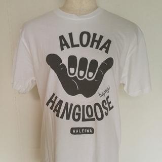 ハッピーハレイワハワイ メンズ TシャツSサイズ 新品