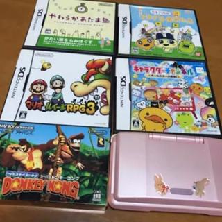 ニンテンドウ(任天堂)のゲームセット(携帯用ゲーム本体)