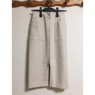ノーブル(Noble)の2018SS NOBLE T/C フープジップタイトスカート◆(ロングスカート)