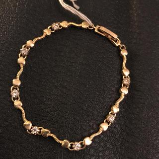 アガタ(AGATHA)のゴールド×ダイヤストーン ブレス(ブレスレット/バングル)