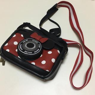 ディズニー(Disney)のディズニー ミニー デジカメケース(コンパクトデジタルカメラ)