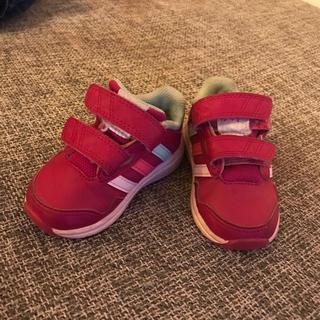 アディダス(adidas)のスニーカー adidas ピンク ベビー キッズ kids アディダス baby(スニーカー)