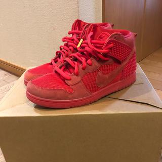 ナイキ(NIKE)の込み 27.5 Nike Dunk CMFT PRM / Red October(スニーカー)